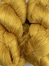 Gold Yellow Silk Yarn  - click to view details