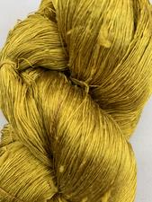 Dirty Yellow Silk Yarn  - click to view details