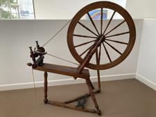 Antique Spinning Wheel - A - click to view details