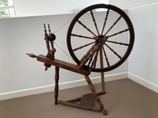 Antique Spinning Wheel - B - click to view details