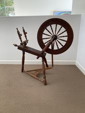 Antique Spinning Wheel - D - click to view details