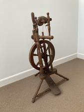 Antique Spinning Wheel - F - click to view details