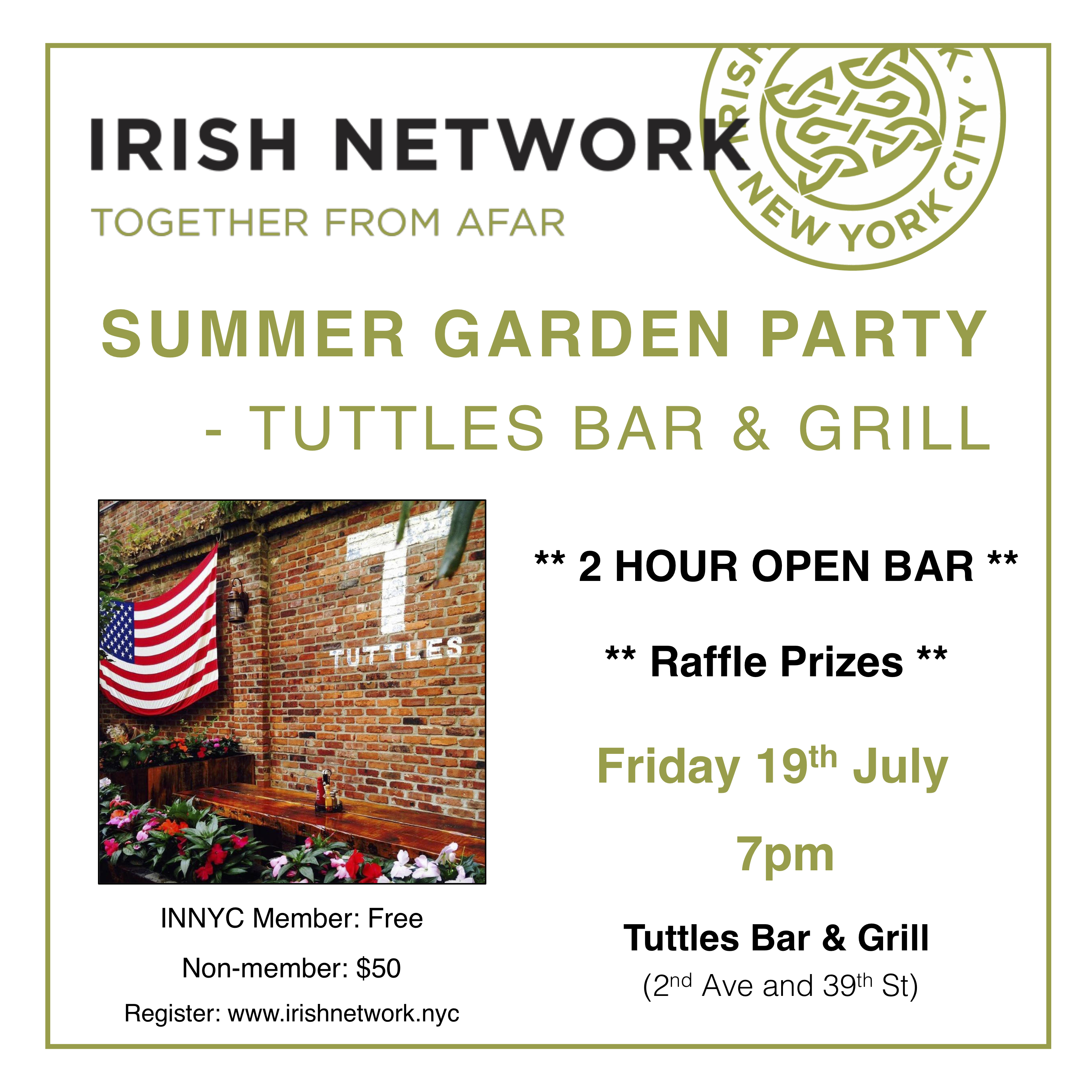 Summer Party - Events - Irish Network New York