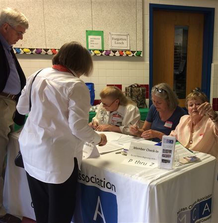 Pics taken by Marty and Martin Smith at MCA's 2018 Annual Membership Meeting, May 24 at Churchill Elementary