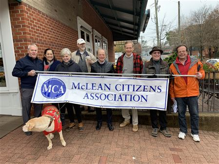 The lively MCA contingent at WinterFest 2019, led by Dale and organized by Brian S. Dec 2, 2918.
