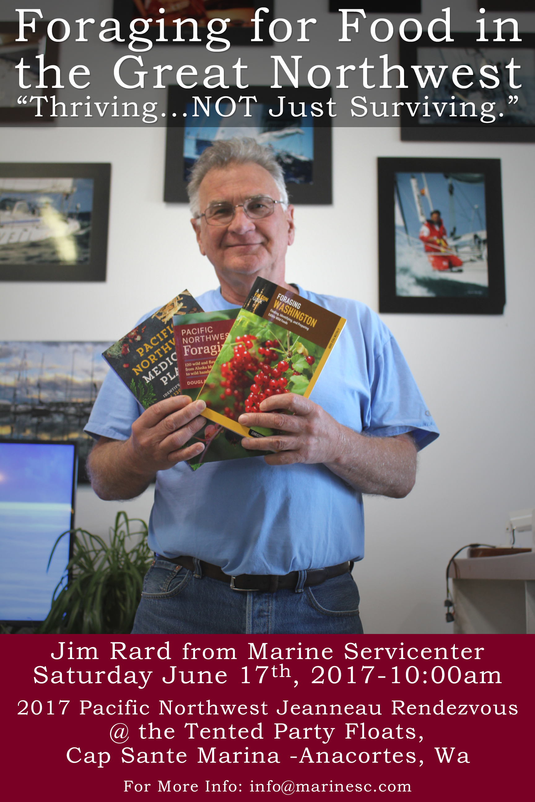 Jim Rard -Foraging for Food in the Pacific Northwest