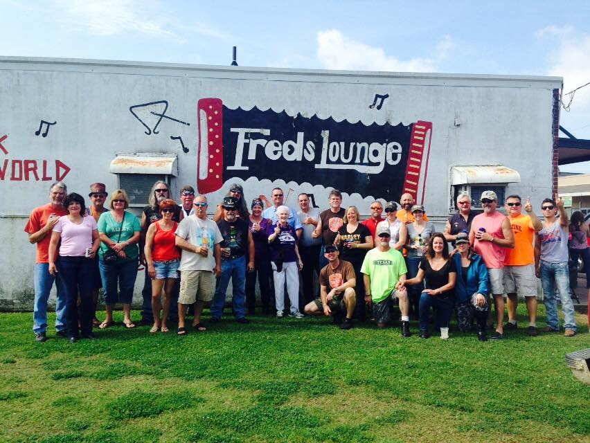 fred s lounge mamou ride events maverick chapter dallas texas