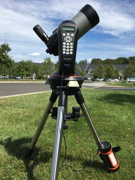 DVAA has astronomy equipment for rent at a nominal monthly fee