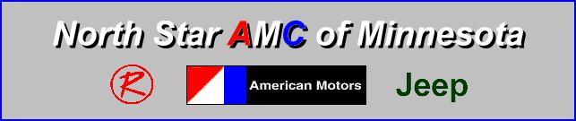 Minnesota's only club devoted to the enjoyment and preservation of American Motors vehicles
