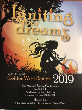 Igniting our Dreams41st Annual Spring Conference June 6-8, 2019Pala Casino Spa Resort, Pala CA