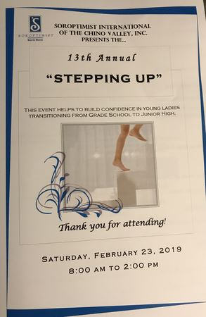 "13th Annual ""Stepping Up"" event helps to build confidence in young ladies transitioning from grade school to junior high."