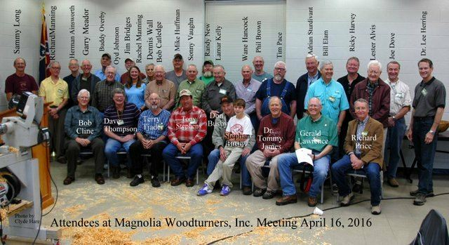 April 2016 meeting multi lathe meeting and open shop