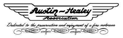 Austin-Healey Club Logo
