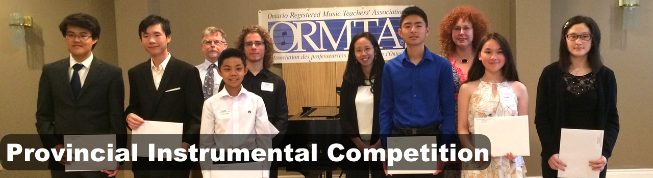 Instrumental Competition Banner