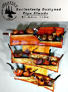 Exotic Pipe Stands by Neal Yarm