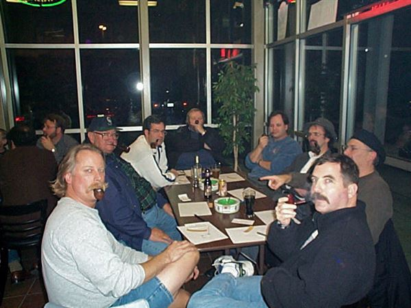 Our first slow smoke competition, held 11/14/2001 at The TinderBox in Issaquah.