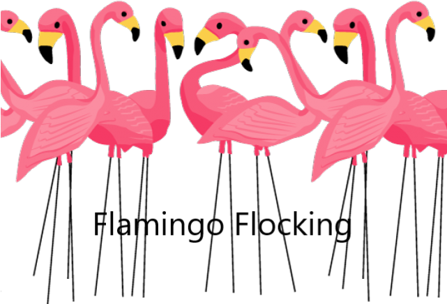 Flamingo Flocking