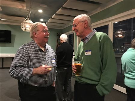 Members & Donors celebrated the Village's 2-year anniversary with drinks and appetizers at VASA.