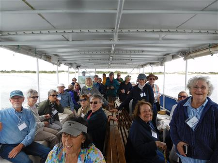 Members took an Essex River Cruise - September 13, 2018