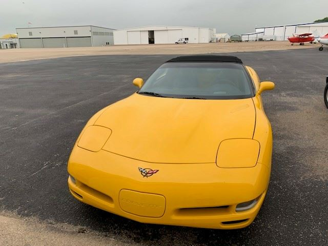 2004 Yellow Convertible