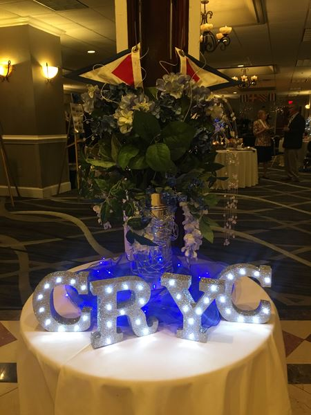 Members & their guests celebrated the 75th Anniversary of CRYC at a gala dinner dance st The Crown Plaza in Cherry Hill NJ on 9/21/19
