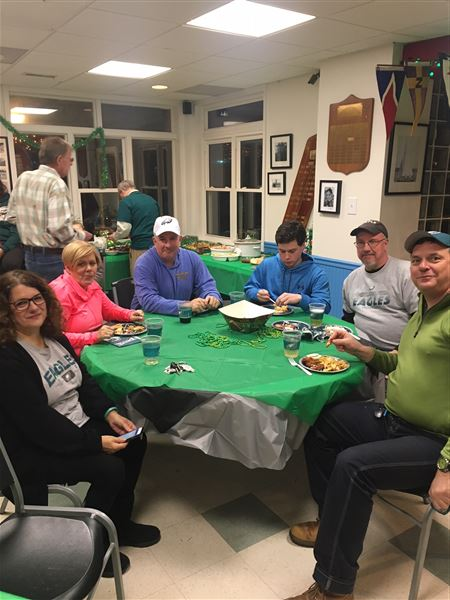 CRYC members and their guests cheered on the Philadelphia Eagles as they cruised to a 41-33 victory over the New England Patriots in Super Bowl LII!