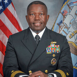 Rear Admiral Cedric Pringle, USN