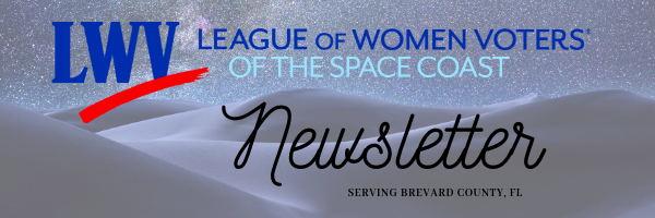 LWVSC bi-monthly Newsletter Header