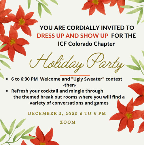 2020 Holiday Party Invite