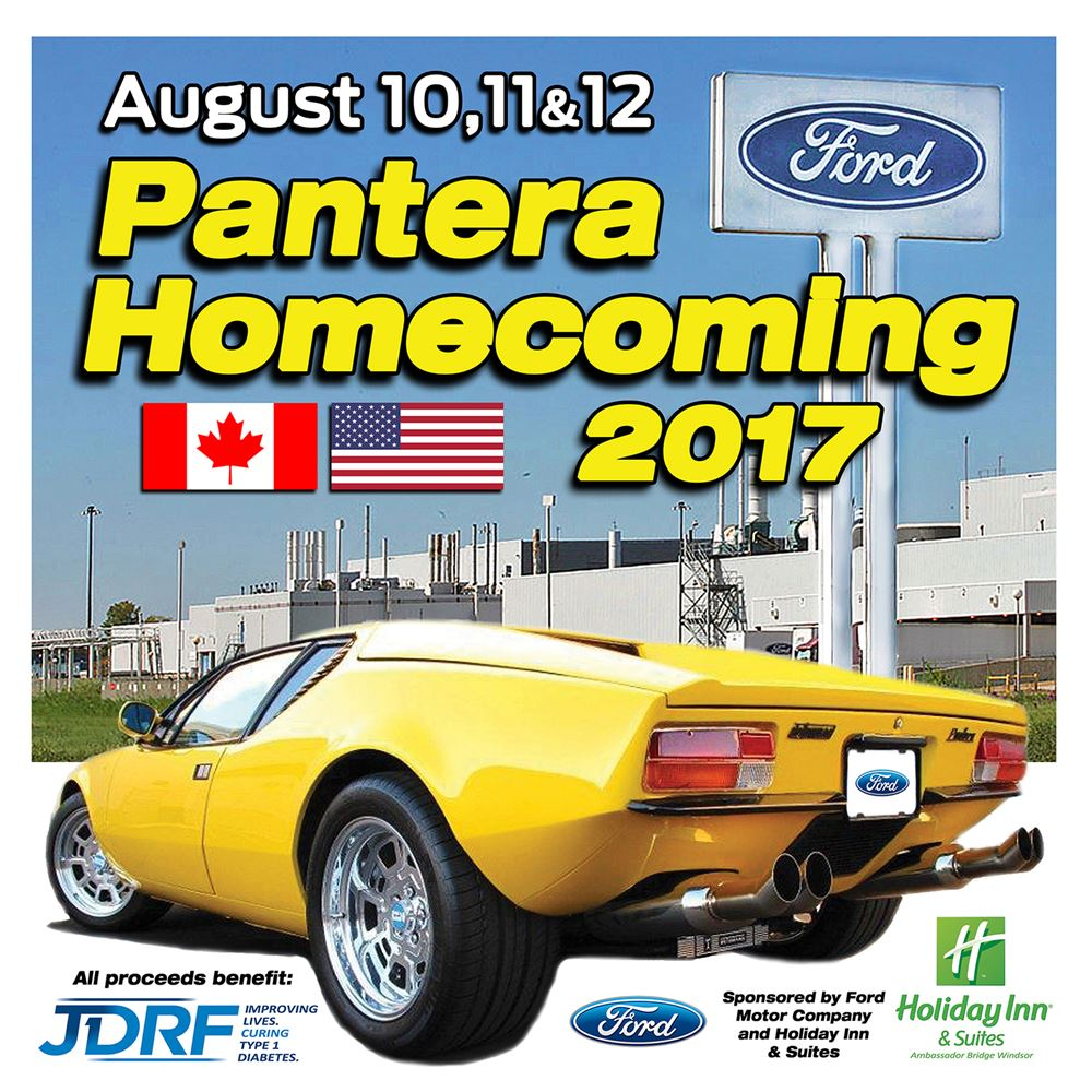 A cross border event involving 24 Pantera's, Raj Nair, Edsel Ford and an international border