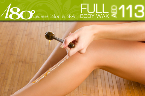 55% off full body wax for women