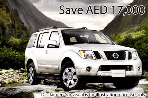 15% off Nissan Pathfinder 2011