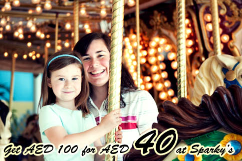 60% off at Sparky's Family Fun Park