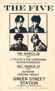 THE FIVE '87 Green Street Station poster