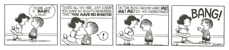 Peanuts History Lesson 1