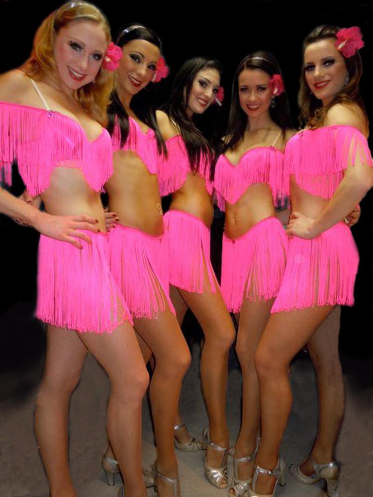 Pink Salsa. COSTUME DESCRIPTION