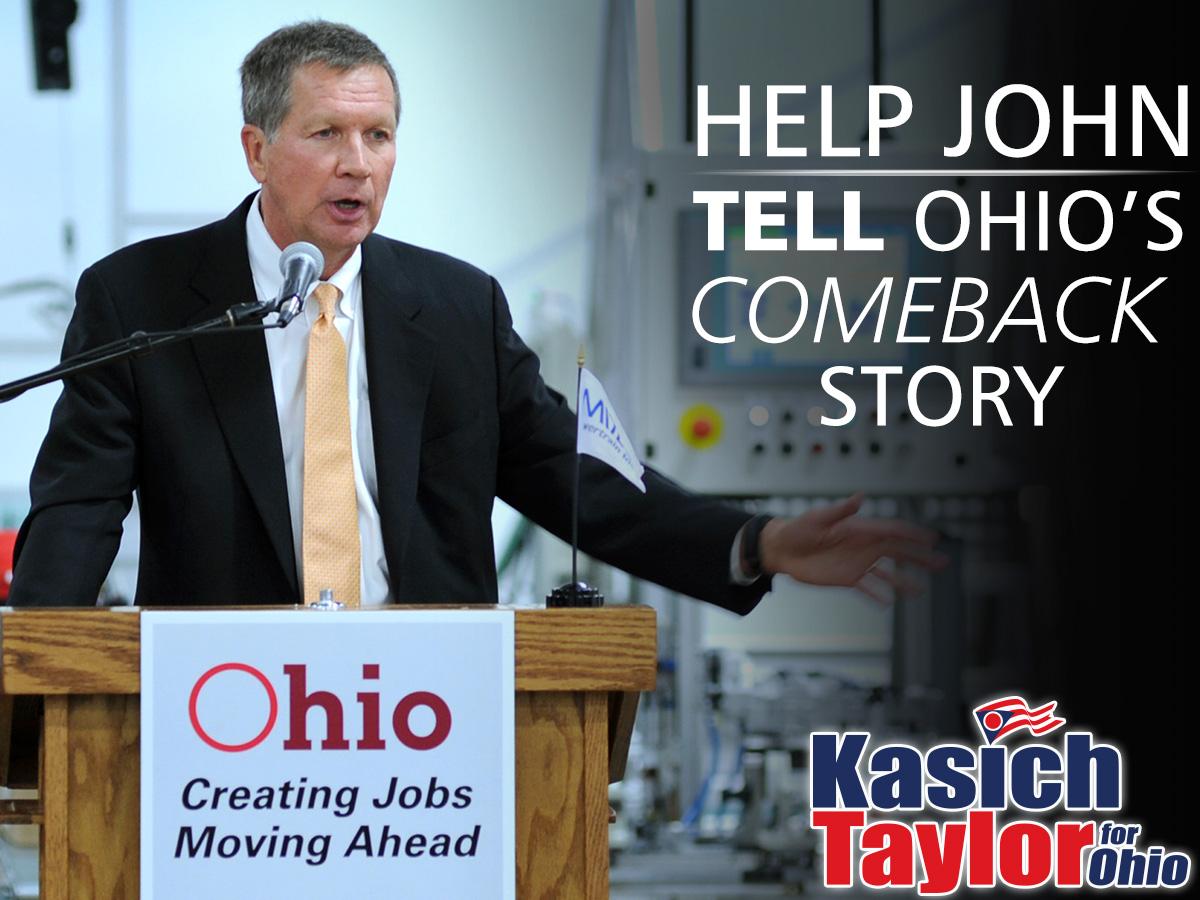 Help John Tell Ohio's Comeback Story