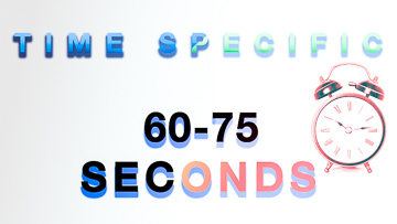 Time Specific 60-75