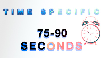 Time Specific 75-90