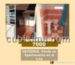 apartamento de 1 cuarto $7,000.00 cuc  en alturas de la lisa, la lisa, la habana