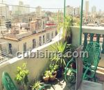 penthouse de 2 cuartos $75000 cuc  en calle industria  colón, centro habana, la habana