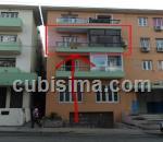 apartamento de 2 cuartos en vedado, plaza, la habana