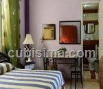 habitacion de 1 cuarto $300 cuc  en calle 33 ampliación de almendares, playa, la habana