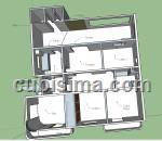 apartamento de 3 cuartos $109000 cuc  en calle 17 vedado, plaza, la habana