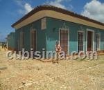 casa de 2 cuartos $25000 cuc  en calle isidoro armenteros 185 trinidad, sancti spíritus