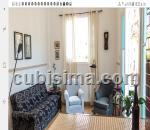 apartamento de 2 cuartos en habana vieja, la habana