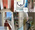 apartamento de 3 cuartos en príncipe, plaza, la habana