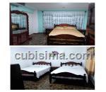 habitacion de 2 cuartos $25.00 cuc  en calle jovellar  centro habana, la habana