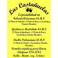 """Cafeteria Las Castañuelas """"Comida Rápida y Para llevar"""""""