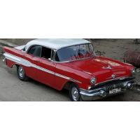 "Servicio ""Taxi por toda Cuba"", autos americanos."